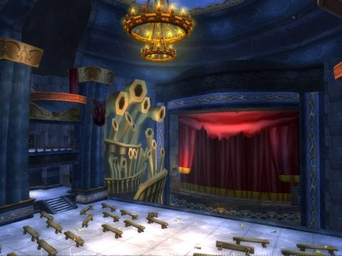 L'opera nel dungeon originale in World of Warcraft.