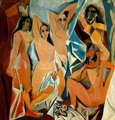 Pablo Picasso, Les Demoiselles d'Avignon, 1907