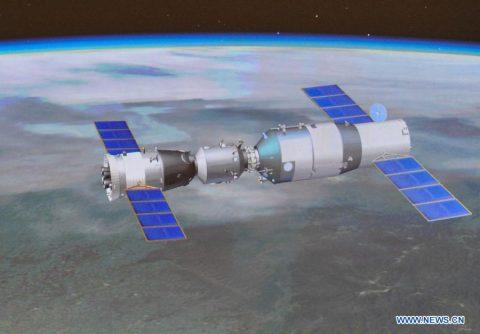Shenzhou docked to Tiangong