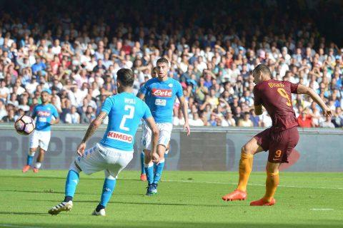 Jorginho sorpreso dalla bruttezza di Hysaj - FOTO AS Roma