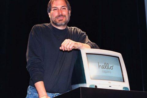Steve jobs con iMac