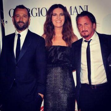 Un grandissimo attore, tra i migliori del mondo, insieme a Sean Penn - FOTO: profilo ufficiale Faceboook Fabio Volo