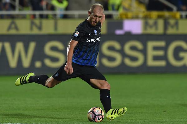 Andrea Masiello in azione con la maglia dell'Atalanta, foto: gettyimages