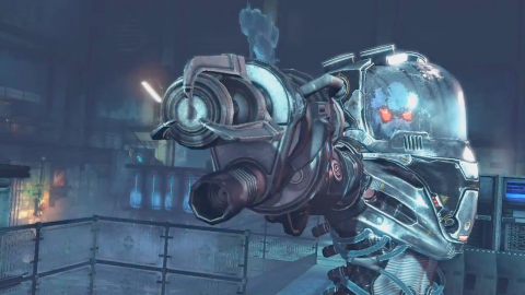 Mr. Freeze bossfight