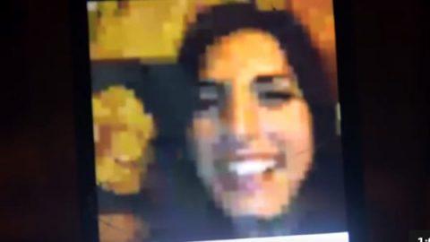 Un fotogramma del video della serata
