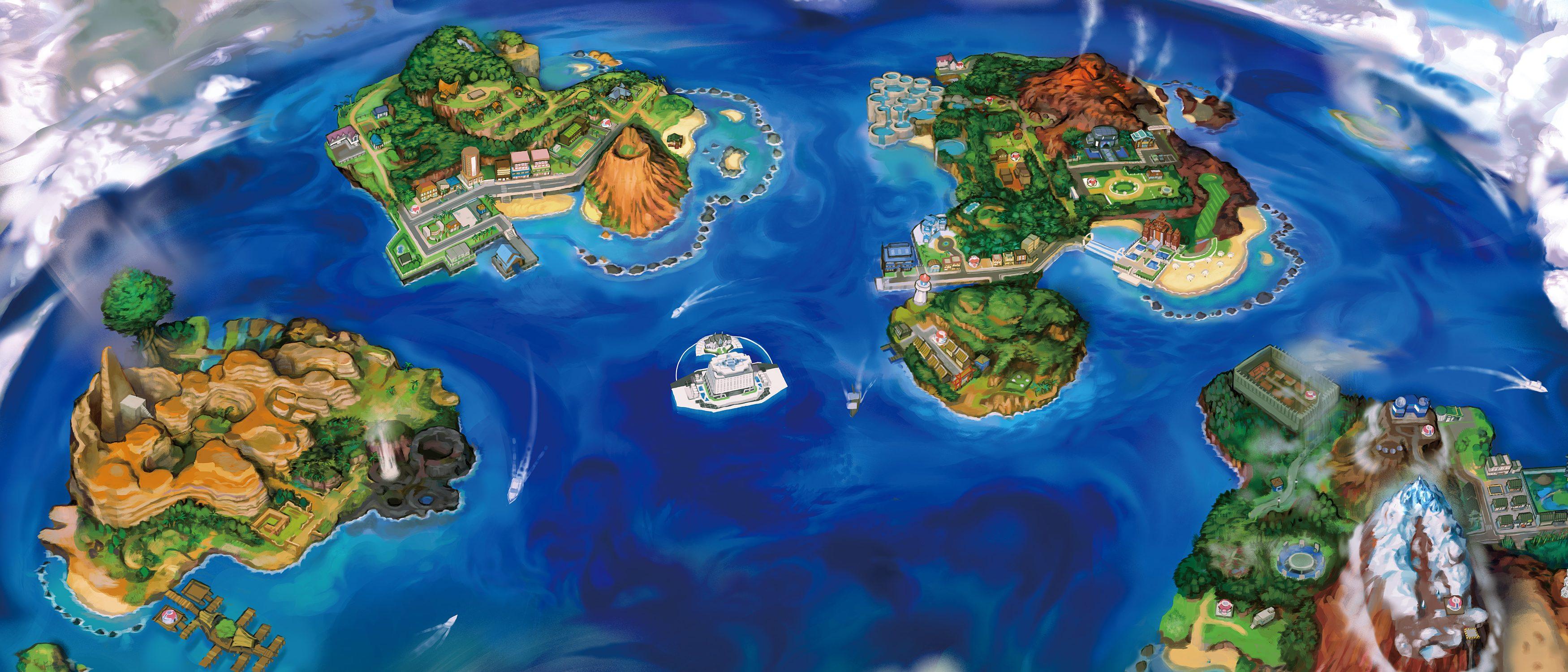 Pokémon Sole e Luna - Regione Alola
