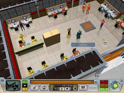 Evil Genius Control Room
