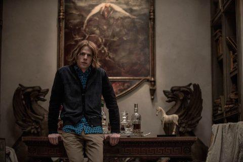 Lex Luthor Jr. in compagnia del quadro