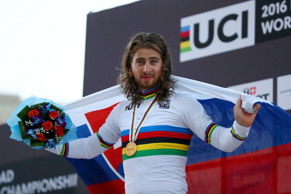 Peter Sagan, il boss.