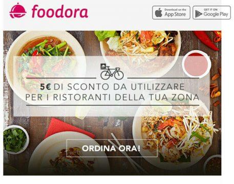 L'attuale risposta di Foodora alla faccenda. Chissà quanto pagano il Social media manager.