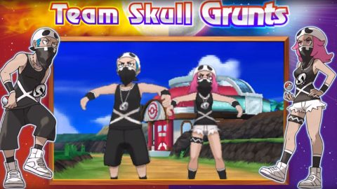 Pokémon Sole e Luna - Team Skull