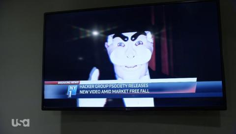 la maschera del Fsociety (mr.robot)