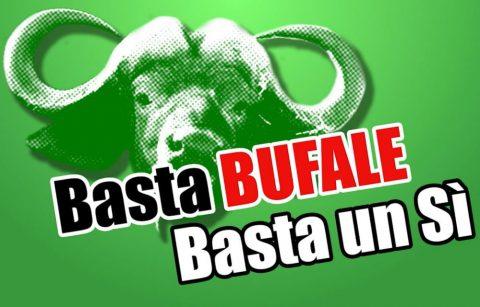 Il logo dell'iniziativa Smonta-Bufale promossa dal Comitato Basta Un Sì, dal sito ufficiale