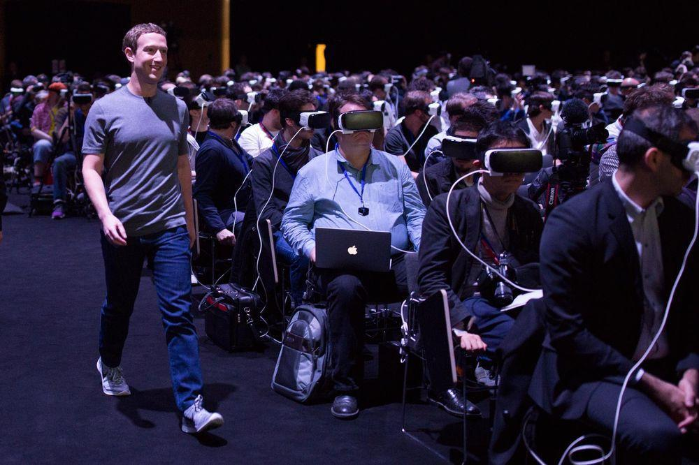 Mark Zuckerberg al Mobile world congress