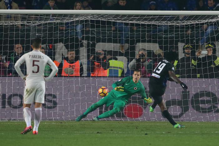 Serie A IMDI 13° turno: Il rigore trasformato da Kessie in Atalanta-Roma