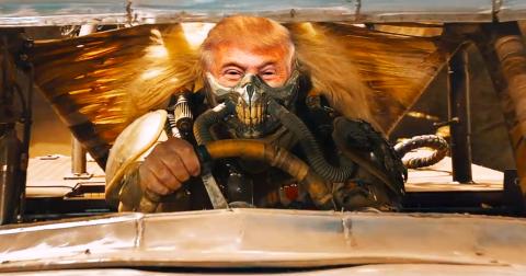Vedremo mai Trump sfrecciare nei deserti con il suo bolide?