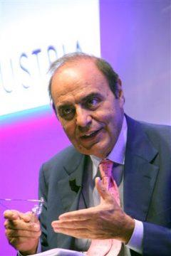 Bruno Vespa, il moderatore del dibattito