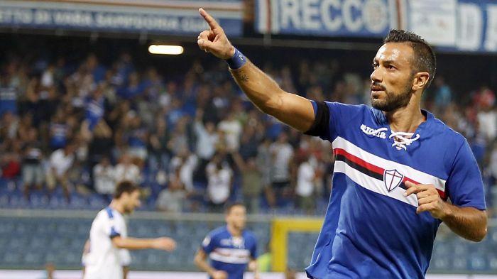 Serie A 11° turno: Fabio Quagliarella dedica il gol ai suoi tifosi