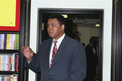 Muhammad Ali nel 1993, foto Wikipedia