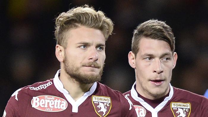 Immobile e Belotti quando erano insieme al Torino.