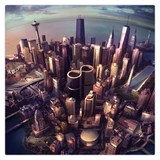 Foo Fighters – Sonic Highways (Best Art Vinyl Winner 2014)