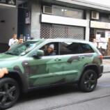 Milano 07092011 LAPO ELKANN ore 1600 dimentica il SUV sulle rotaie e blocca per mezz ora tutto il traffico da via Montegani a Via Meda a Corso San Gottardo