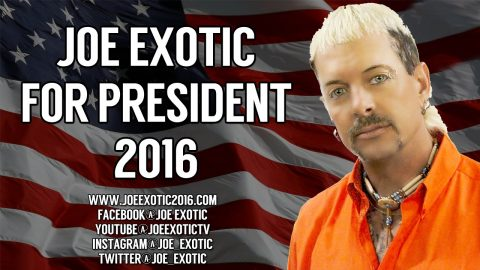 Joe Exotic, il presidente di cui l'america ha bisogno