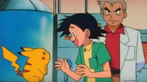 il primo incontro fra Pikachu e Ash