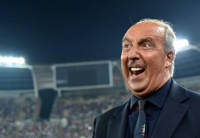 L'allenatore dell' Italia Ventura al pensiero della Spagna.