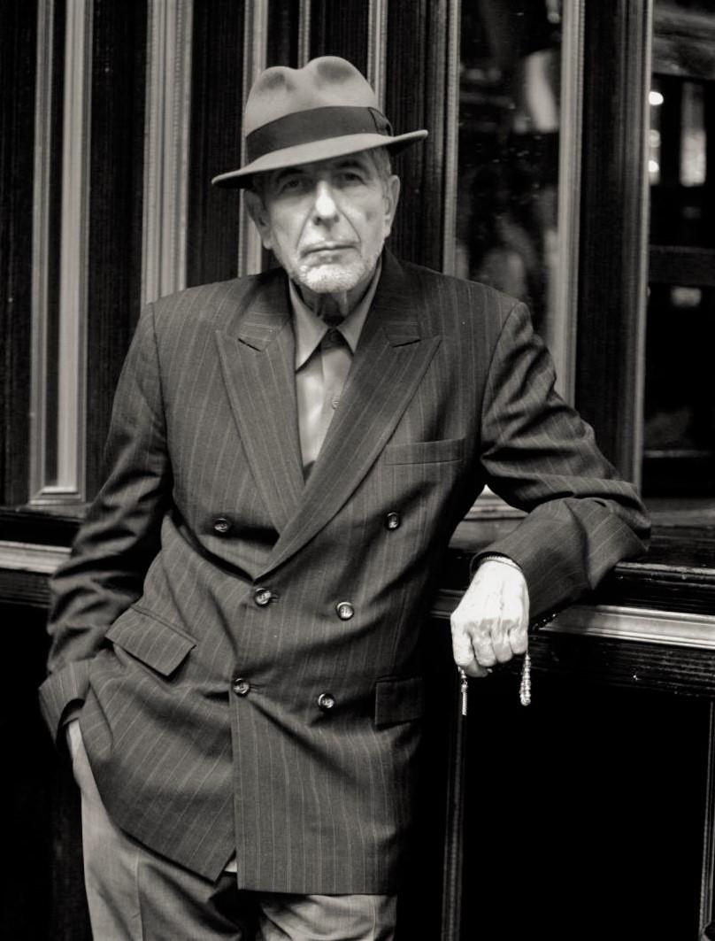 Leonard Cohen, anche lui scomparso nel 2016