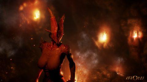 Il demone tettone ci osserva famelico
