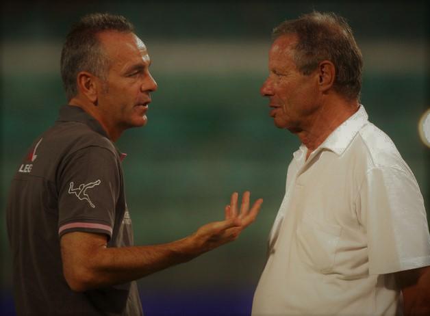 Stefano Pioli e Maurizio Zamparini