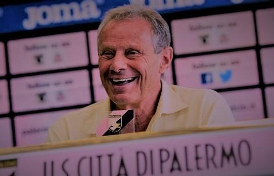Maurizio Zamparini in conferenza stampa