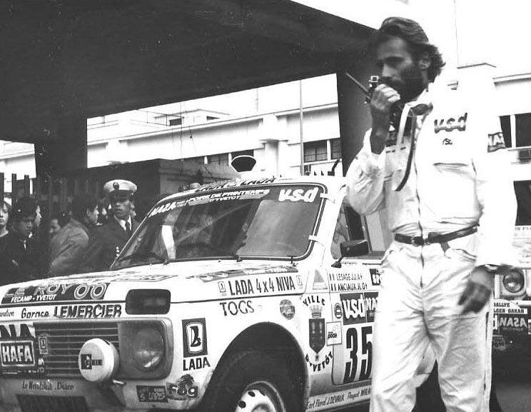 Thierry Sabine, il padre della Dakar