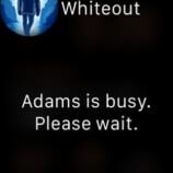 adams is busy