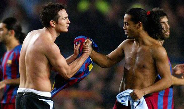 Lampard e Ronaldinho, foto: getty