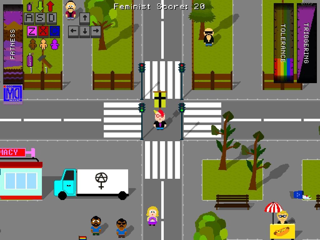 feminazi the triggering game screenshot