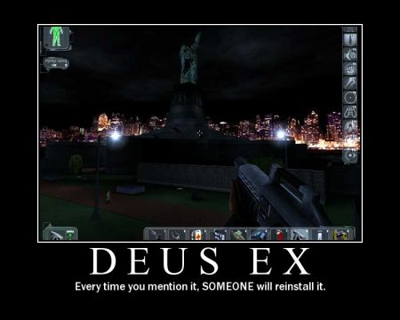 deus ex motivational