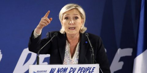 le pen elezioni francesi