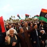 Libia, manifestazione a Tripoli
